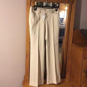 WhiteHouseBlackMarket bi-stretch modern boot pant